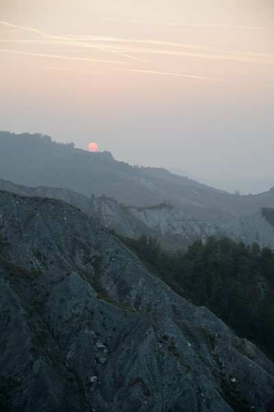 Badlands at Sunset - San Polo d'Enza, Reggio Emilia, Italy - September 28, 2014