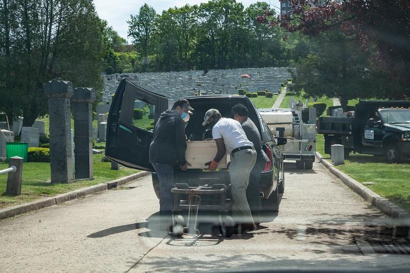 Martin Alperin Funeral