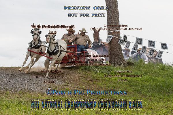 2017 Saturday Big Mules National Championship Chuckwagon Races