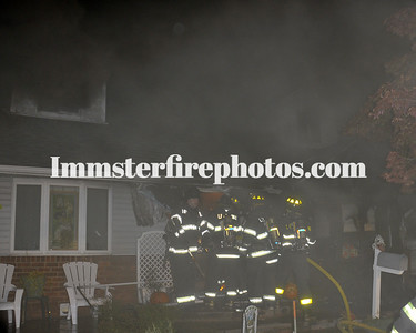 LEVITTOWN FD MILTON AVE HOUSE FIRE 11-8-10