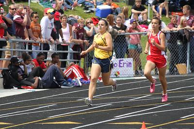 Girl's 800 Meters - 2012 MHSAA LP D3 T&F