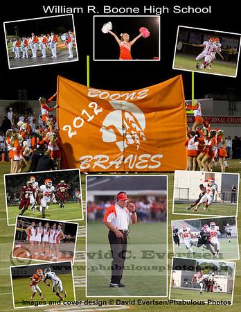 Boone Football Program Cover - 2012