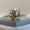 1.58ct Old European Cut Diamond Solitaire, EGL K VS2 19