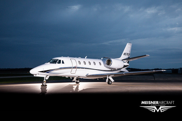 Citation XLS+ N576SA (High Res w/Logo)