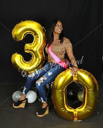 Kanesha and daughter Birthday shoot