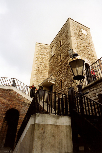 Stairs to the Tower