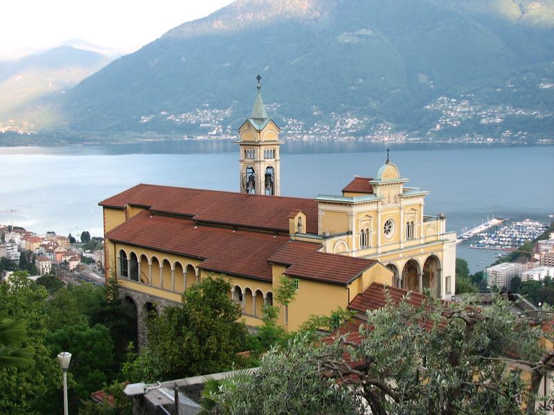Santuario della Madonna del Sasso. Source: Wikimedia