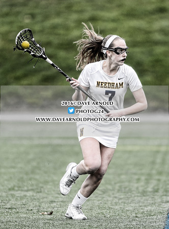 4/12/2016 - Girls Varsity Lacrosse - Framingham vs Needham