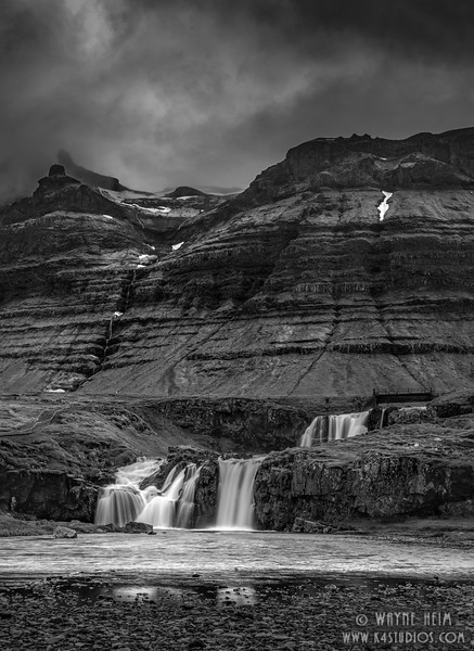 Keilir Lower    Black & White Photography by Wayne Heim