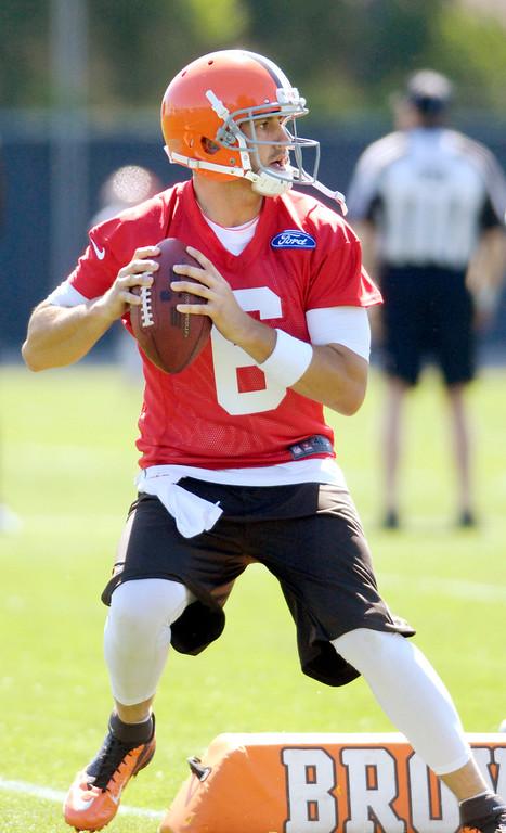. News-Herald file Browns quarterback Brian Hoyer.