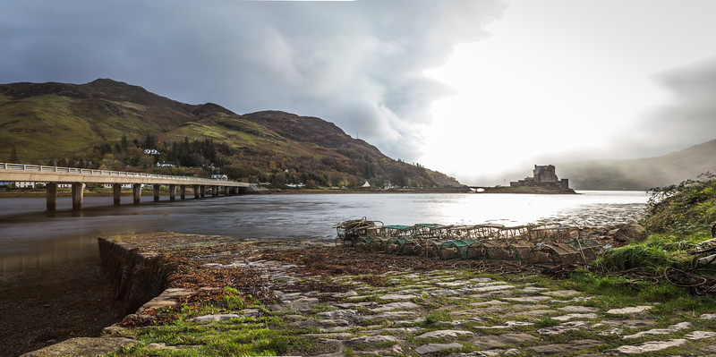 Bright Light On Eilean Donan