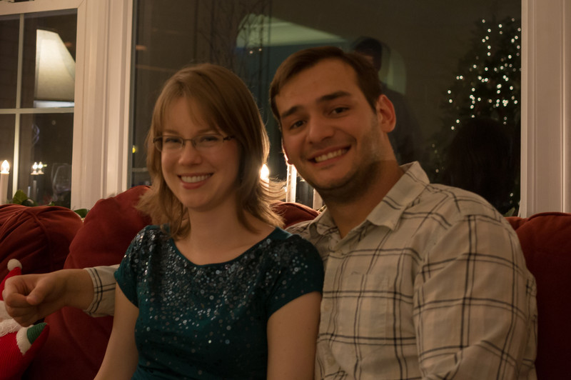 Dec 26. New Year's Eve at the Brandt residence.