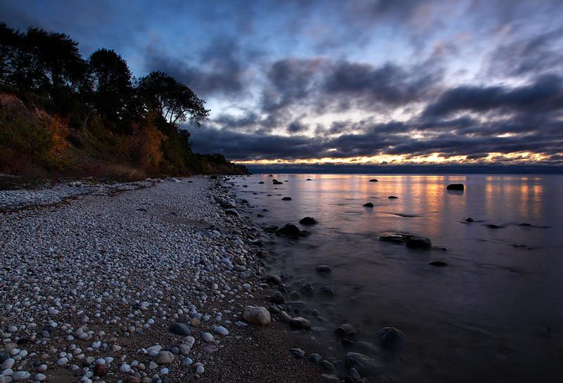 Fisherman's Delight - Lake Michigan Shoreline (Algoma, WI)