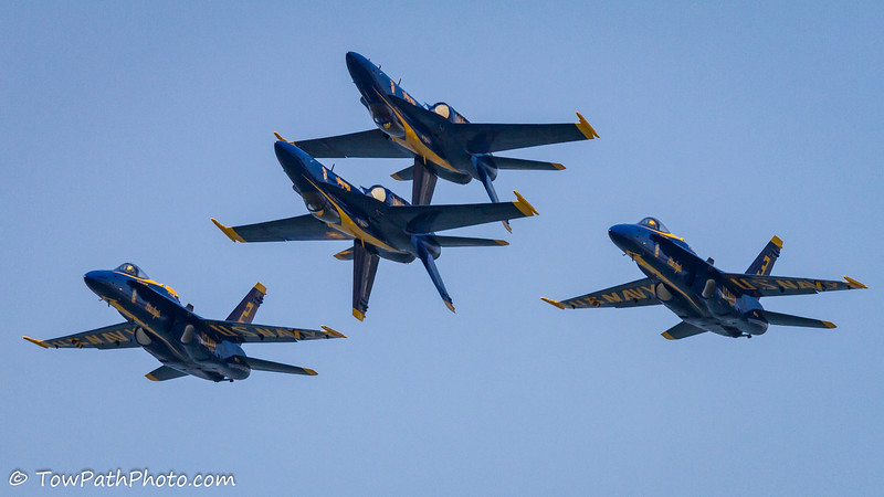 USN Blue Angels (F/A-18 Hornet)