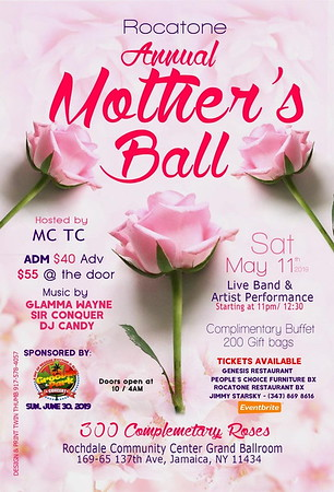 "ROCATONE'S ANNUAL ""MOTHER'S DAY BALL 2019""(0)"
