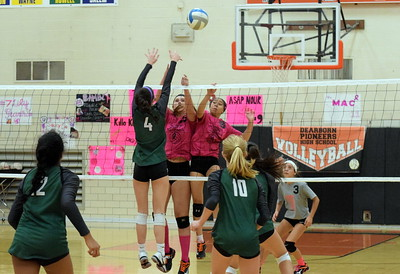 HS Sports - Dearborn High vs. Novi volleyball