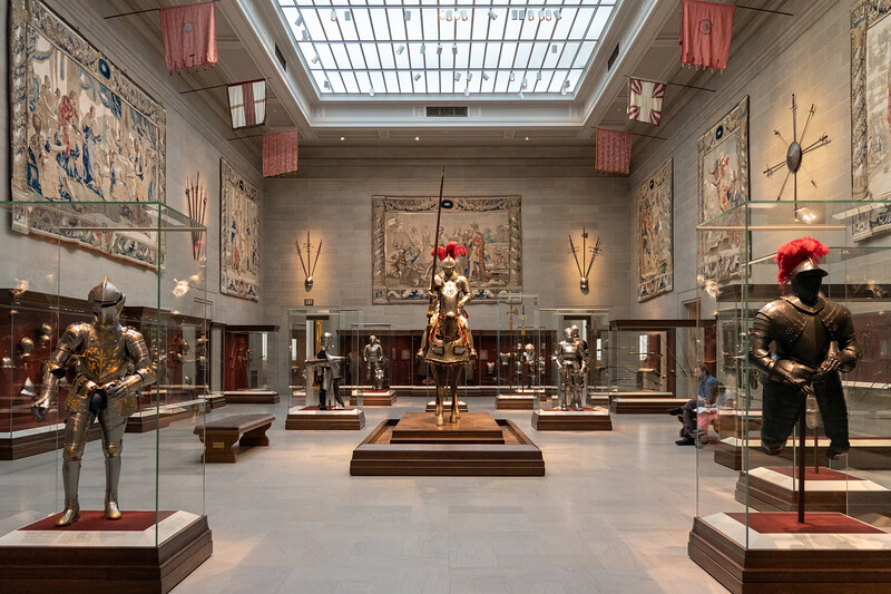 Armor Court at the Cleveland Museum of Art