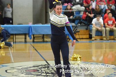 1-10-2015 Bethesda Chevy Chase HS Varsity Poms at Blake HS Invitational, MCPS Championship, Photos by Jeffrey Vogt Photography with Kyle Hall