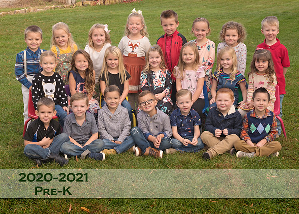 Homedale PreK Fall 2020