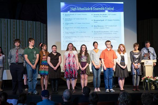 Crooked Tree Art Center Youth Awards Ceremony 2014