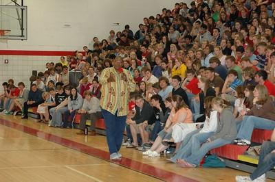 High School Assemblies - 2006-2007 - 4/24/2007 Milton Creagh