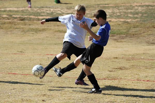 U12 Boys vs Athens United 11-3-2012
