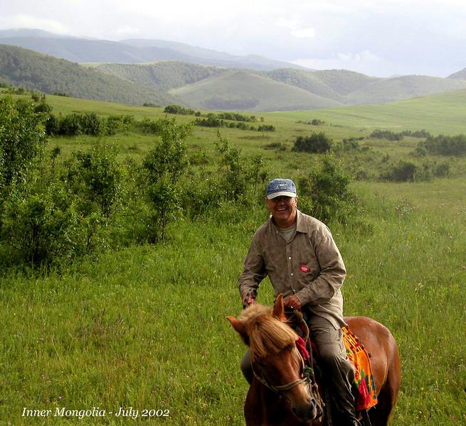 Inner Mongolia 2002, great fun horseback riding too.