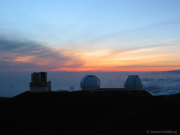 On top of Mauna Kea