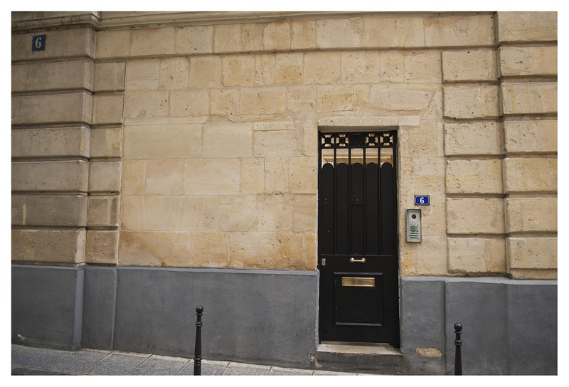 One of the places where Hemingway lived during his Paris years.