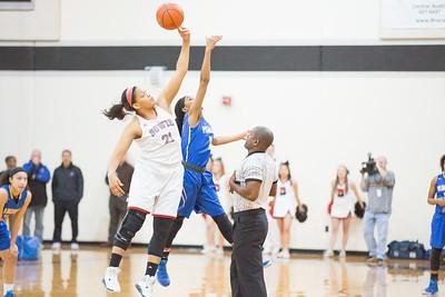 Pflugerville vs. Bowie Girls Basketball Bi-District playoffs