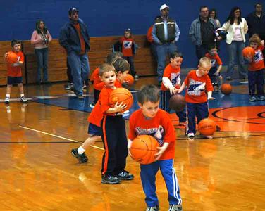 Preschool & Kindergarten Little Dribblers - 01/31/05
