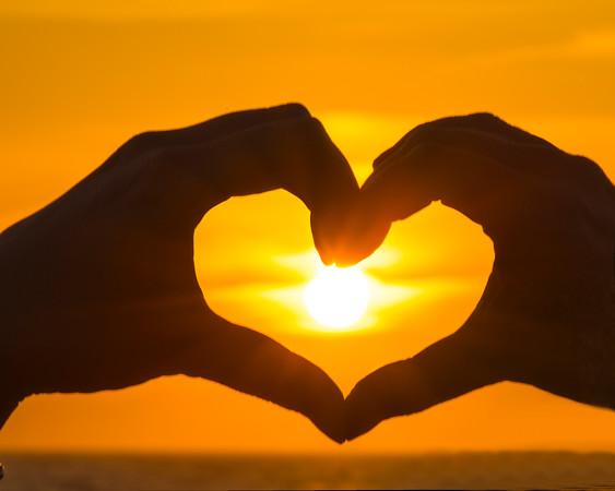 Heart in Loving Hands