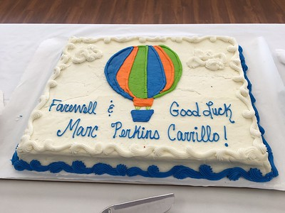 Farewell Marc Perkins-Carrillo (Oct. 2017)