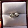 1.73ctw Georgian Peruzzi Cut Diamond Collet Stud Earrings 4
