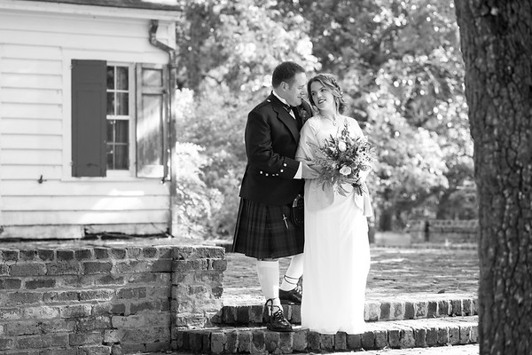 Elizabeth and John BW Images