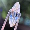 3.50ct Antique Marquise Cut Diamond, GIA K SI1 5