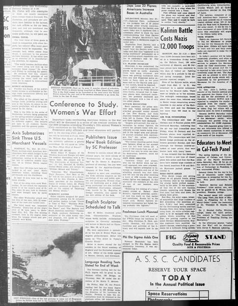 Daily Trojan, Vol. 33, No. 95, January 23, 1942