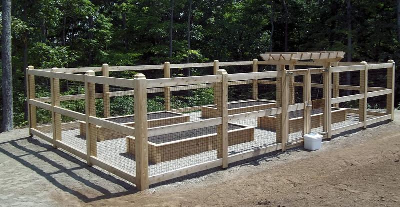 743 - 465454 - Marlborough CT - Custom Cedar Garden Enclosure