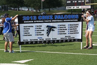 Sharon Springs Rec Football 2010 - 2015