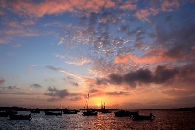 Phare de l'Ile Vierge  - Couchers de soleil