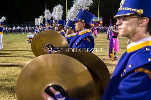 Broughton varsity football vs Cardinal Gibbons. Band and Dance Team Senior Night. October 25, 2019. MRC_3683