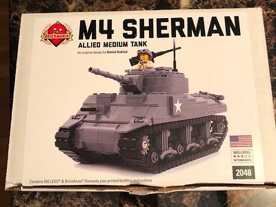 M4 Sherman Tank (Brickmania)