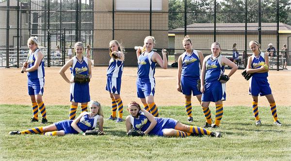 Girls U14 Fastpitch Blue