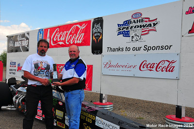 August 19, 2012 - Coca Cola Points Race #7