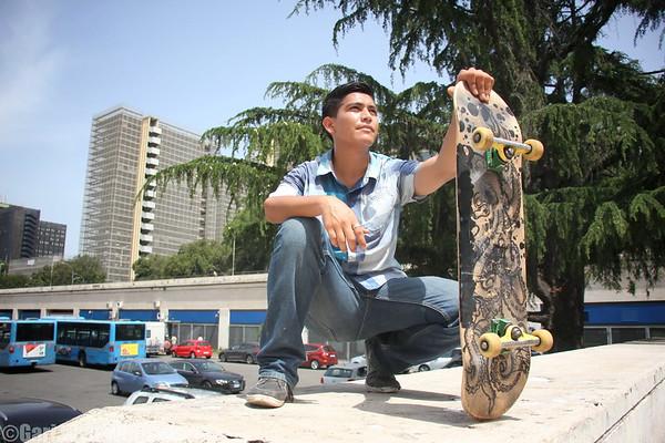 Emmanuel - Skateboarder