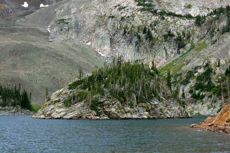 Lake Agnes Island