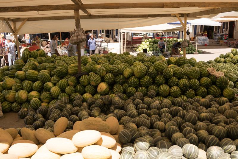 Market near Samarkand