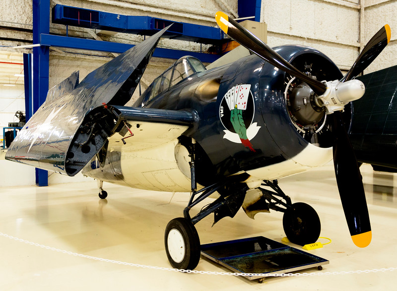 "Grumman/General Motors FM-2P ""Wildcat"", Carrier-based fighter."
