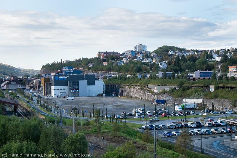 Nordkraft Arena og Demag-området