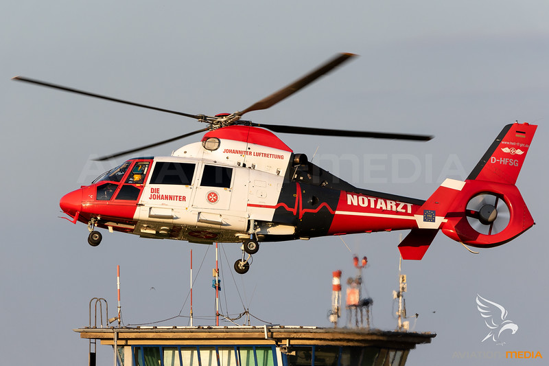 Heli-Flight (Johanniter Luftrettung) / SA 365N3 Dauphin 2 / D-HFSG / Christoph Nürburgring